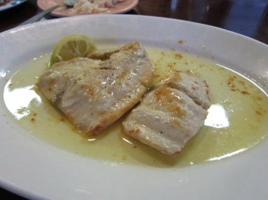 Manago Hotel & Restaurant : マヒ。これ、お勧めなほど美味しいです。