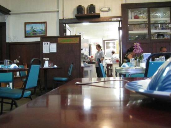 Manago Hotel & Restaurant: 厨房。