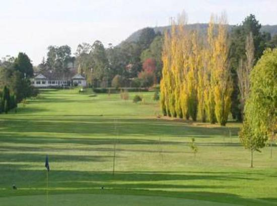 The Manning Motel: Bowral golf course opposite
