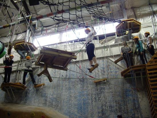 MetroRock Indoor Climbing Centers : High Ropes Challenge