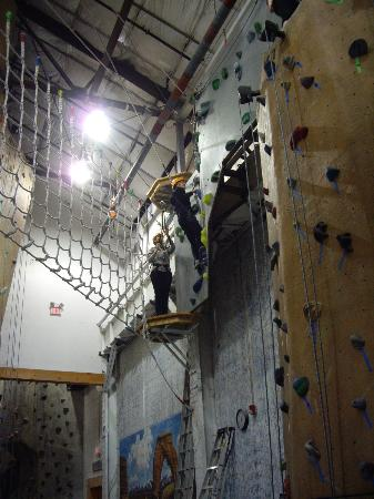 MetroRock Indoor Climbing Centers: The Wall