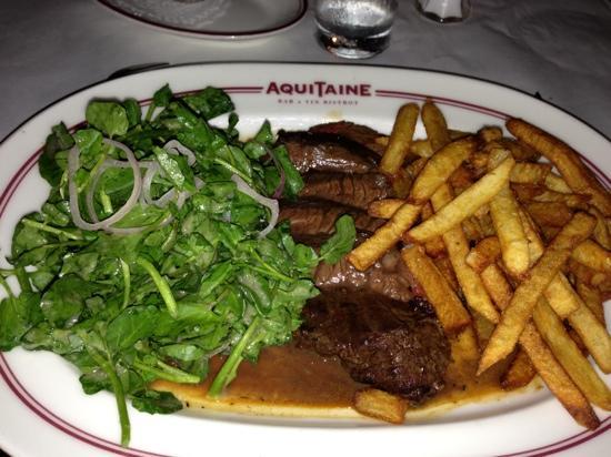Aquitaine: Steak Fritts