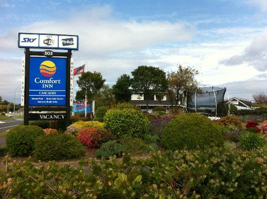 Cascades Motor Inn: The Cascades Comfort Inn