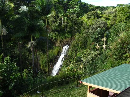 The Inn at Kulaniapia Falls: Pikake balcony view