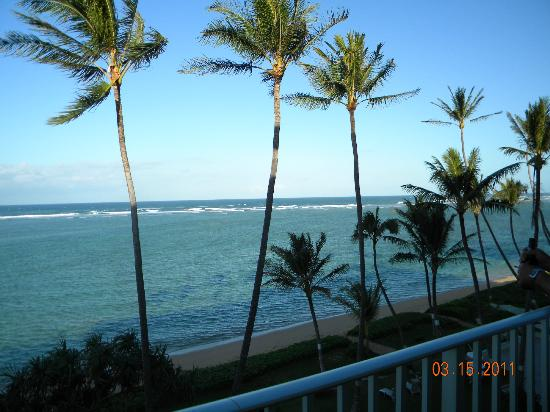 "Gigi's Paradise: View from the ""Hula Paradise"" Condo."