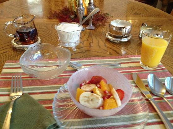 The Blaylock Mansion: every breakfast different and special