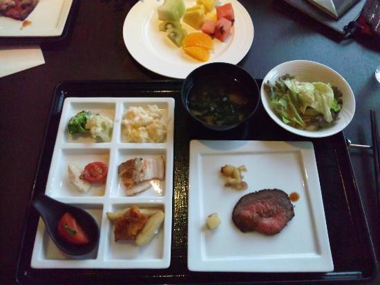 Hotel Harvest Kyu Karuizawa : 夕食バイキング
