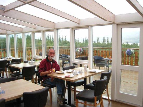Hotel Hallormsstadur: Dining room