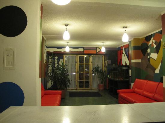 Hotel San Sebastian: Lobby de las recepcion
