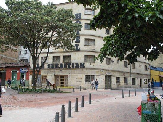 Hotel San Sebastian: Vista desde la Jimenez
