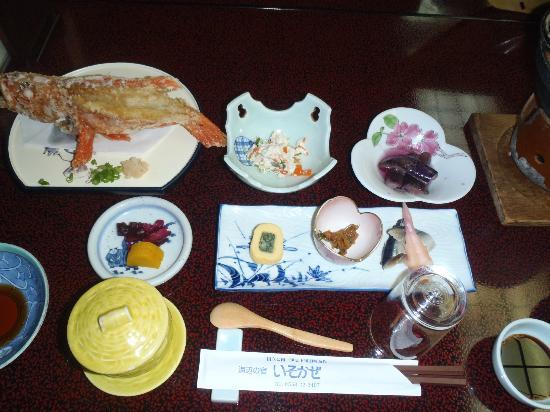 Isokaze : 夕食