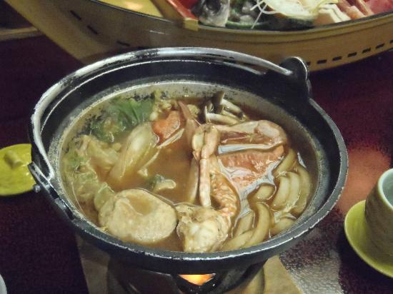 Isokaze : 夕食 漁師鍋
