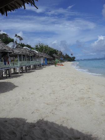 Taufua Beach Fales: Paradise