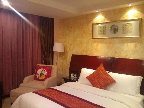 Hejiangting Hanwen Hotel: 寝室