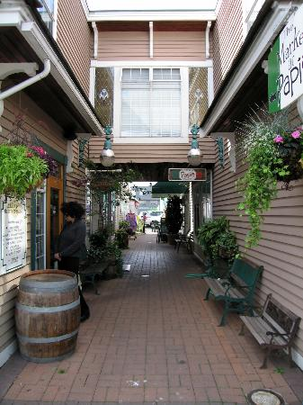 Steveston Heritage Fishing Village: One of many side street with shops