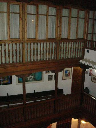 Palacio de Santa Ines: 2nd floor balcony