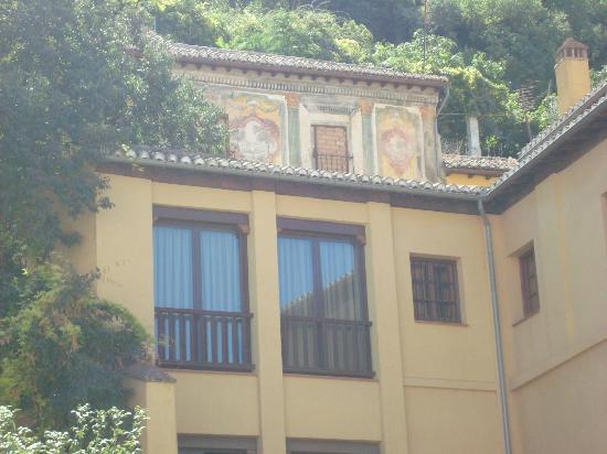 Palacio de Santa Ines: entrance