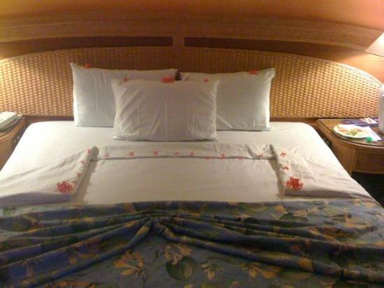 Caribe Club Princess Beach Resort & Spa: housekeeping surprise