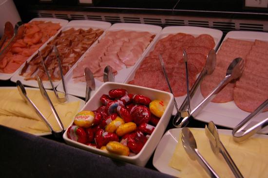 Hilton Vienna: 朝食
