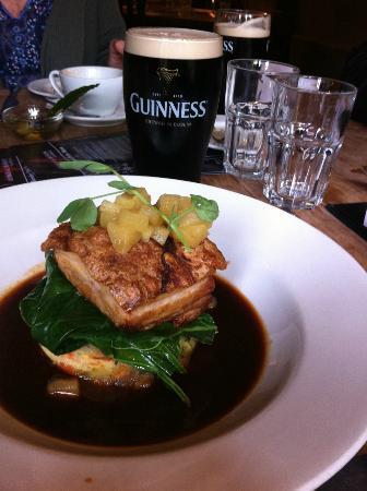George & Dragon Inn: Pork Belly