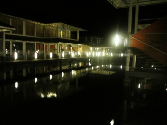Edassery Kayal Resort: Evening View