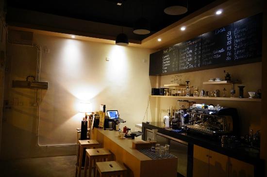 Terra Coffee House: L'interno del caffè