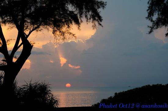 Marriott's Phuket Beach Club: Nice sunset