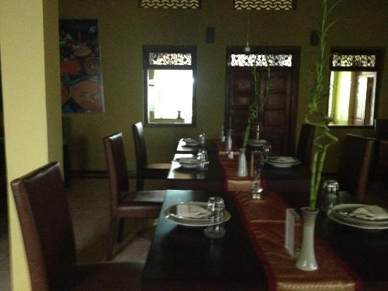 Sala Boutique Hotel: Dining Area