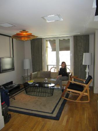 Witt Istanbul Suites: Lounge