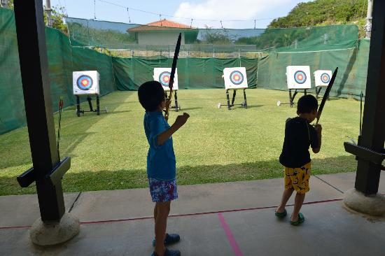Club Med Kabira Beach: Archery