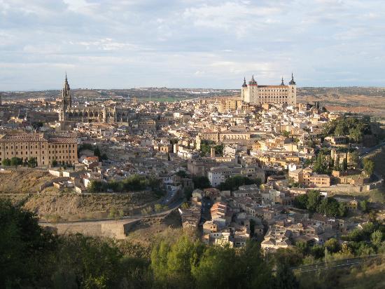 Parador de Toledo: 部屋からの眺め