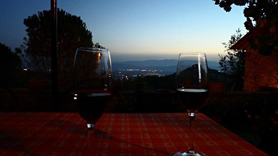 Casa Spertaglia: View from the terrace.