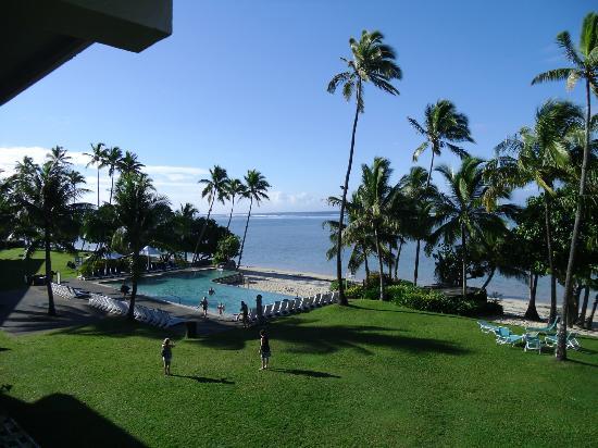 Shangri-La's Fijian Resort & Spa: View from 665