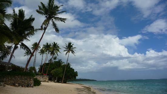 Shangri-La's Fijian Resort & Spa: ocean view beach