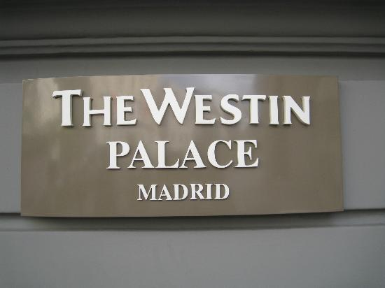 The Westin Palace Madrid: 外観