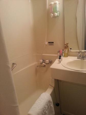 IP CITY HOTEL Fukuoka: Clean bathroom