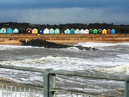 Southwold, UK: 60,000 + for a beach hut!