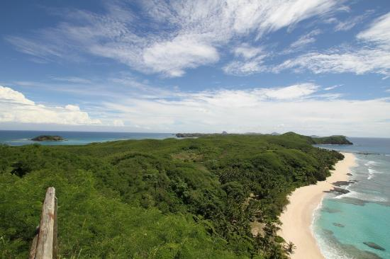 Yasawa Island Resort and Spa: View from the lookout