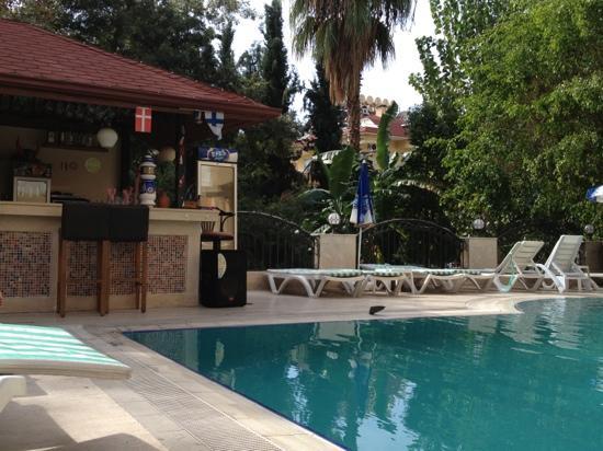 Vuxenpoolen med bar bild fr n azalea apart hotel for Appart hotel mediterranee