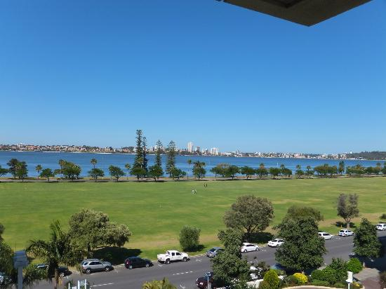 Crowne Plaza Perth: 6th floor, room 601.