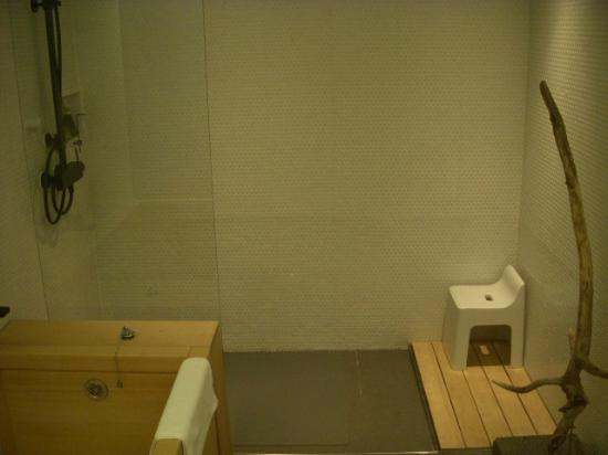 Hotel Kanra Kyoto: Shower, tub