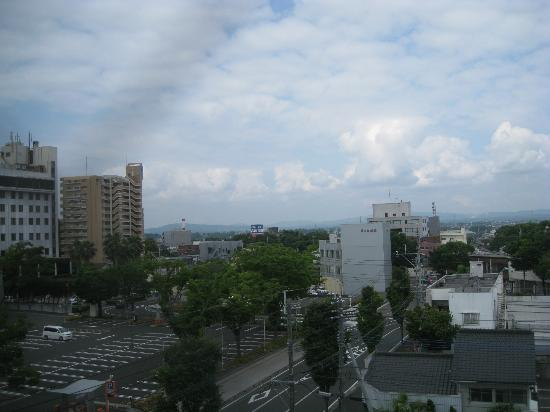 Hotel Wing International Miyakonojo: 窓外