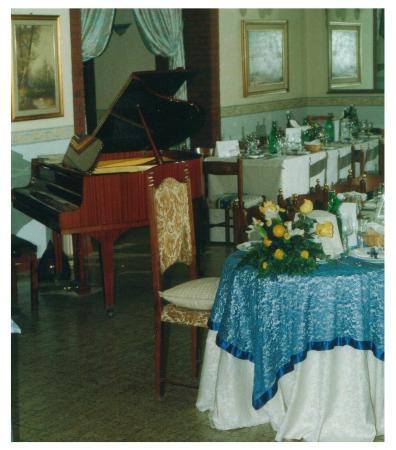 Peppe Parco alle Noci: pianoforte in sala