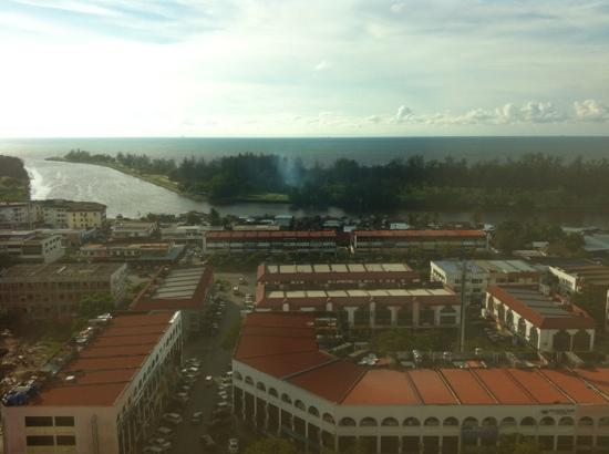 Imperial Hotel: see view from 16th Floor Master Room