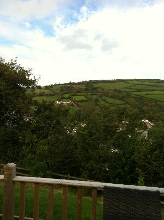 Manleigh Park : View from decking #1