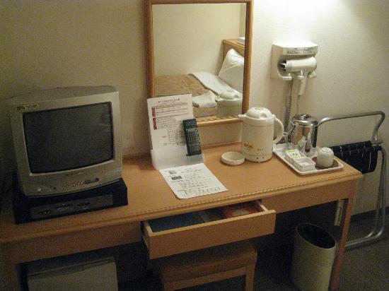 Kamenoi Hotel Yamaguchi Shimonoseki : 机周り