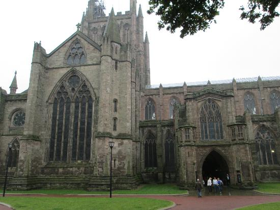 Castle House: Hereford Cathedral
