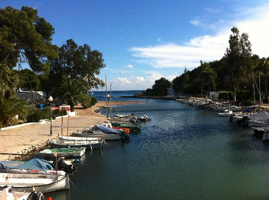 Santa Eulalia River Walk: View from the bridge