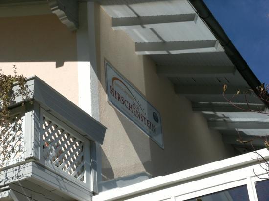 Landgasthof Hotel Zum Hirschenstein: Landgasthof zum Hirchtenstein