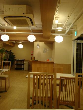 โรงแรมคันไซ: Dining area